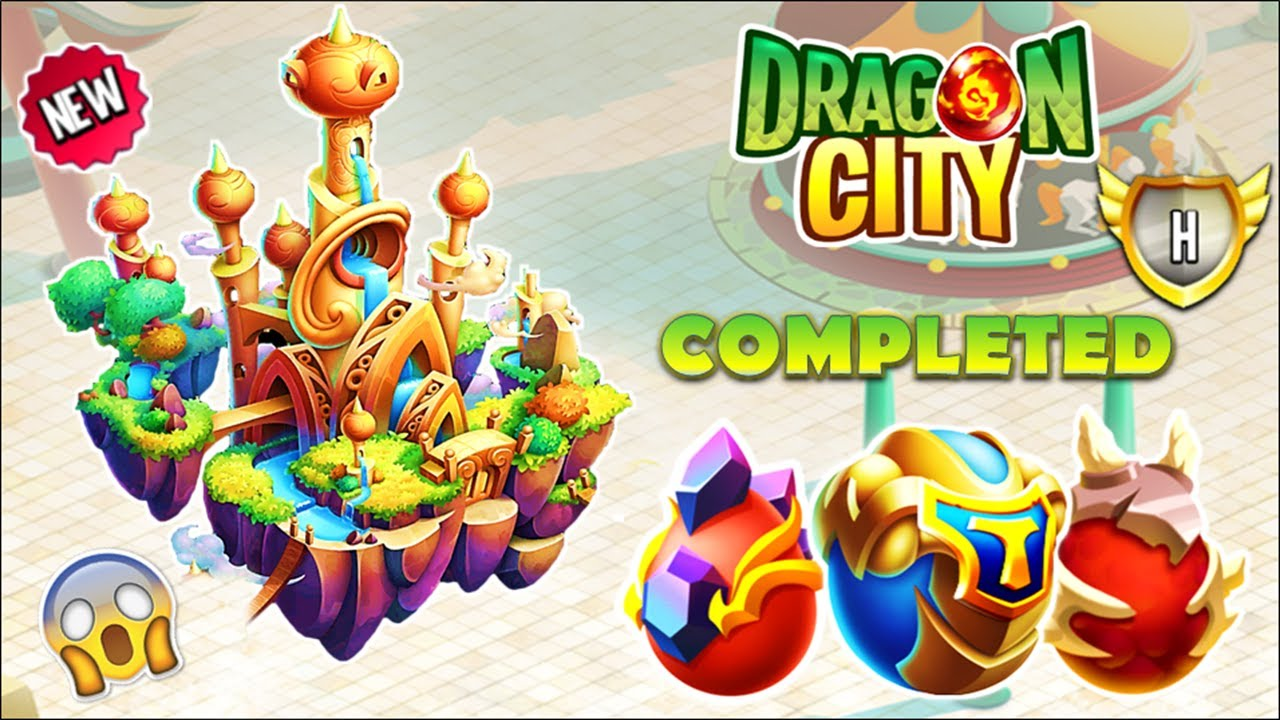 Dragon City - Master Wind Island + All Dragons [First Looks 2020] 😱