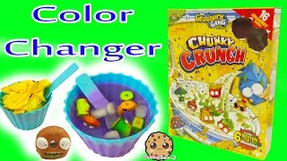 16 Grossery Gang In Chunky Crunch Cereal Box Set with Blind Bags & Color Change Surprise