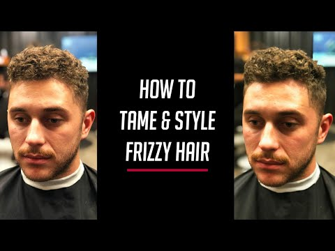 How To Control Men's Frizzy Hair
