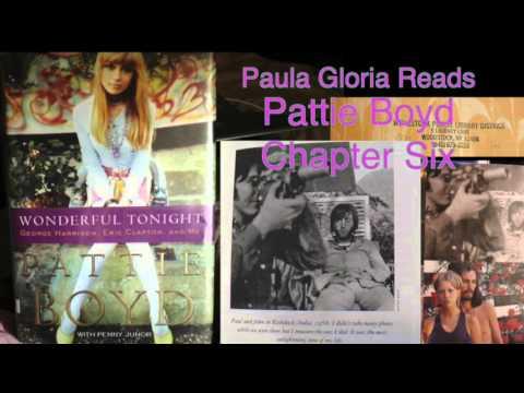 6 Paula Gloria reads Pattie Boyd