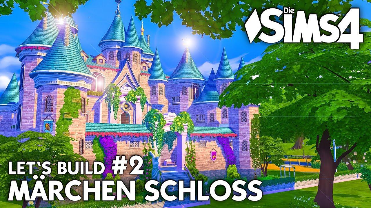 Die Sims 4 Märchen Schloss bauen #2 | Grundriss & Türmchen (deutsch ...