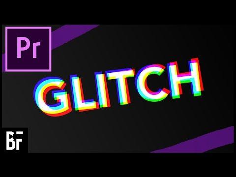 Glitch Text In Premiere