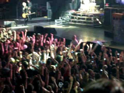 Green Day - East Jesus Nowhere Live at the LG Arena Birmingham 28/10/09