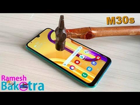 Samsung Galaxy M30s Screen Scratch Test