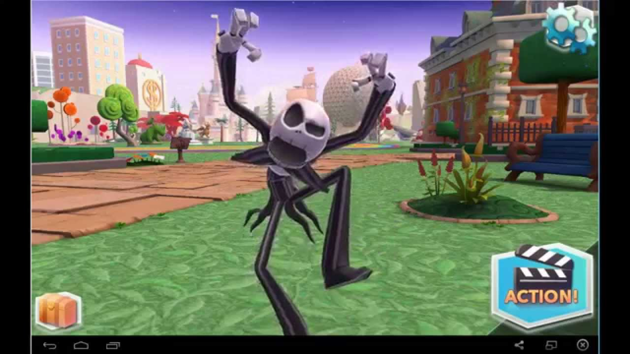 Disney Infinity: Action! - Jack Skellington from The Nightmare ...