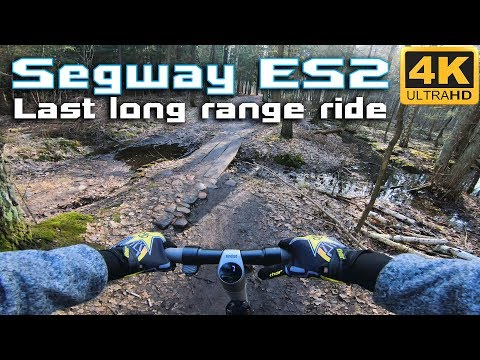 Segway ES2 With External Battery Long Range MIX Ride Onroad & Offroad