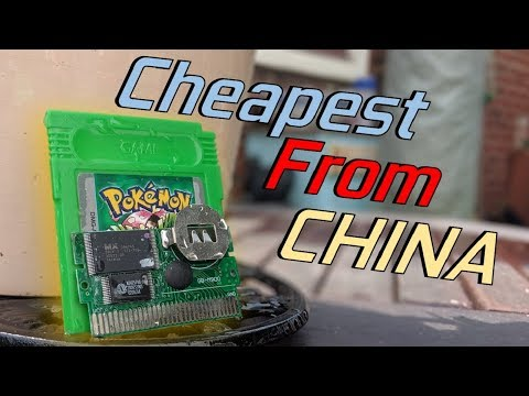 Ordering The CHEAPEST Pokemon Game From China!