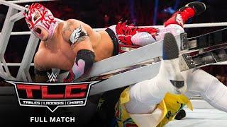 FULL MATCH - WWE Tag Team Title Triple Threat Ladder Match WWE TLC 2015
