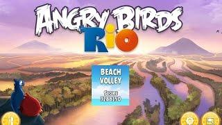 Angry Birds: Rio. Beach Volley (level 19) 3 stars. Прохождение от SAFa