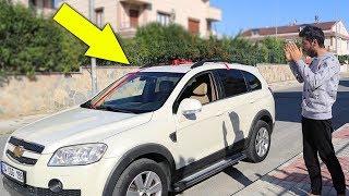 ياسمين جابتلي سيارة هدية   انذل مقلب باليوتيوب