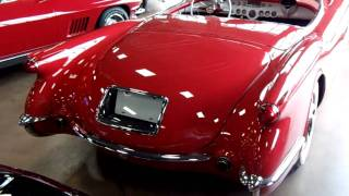 1954 Chevrolet Corvette Roadster Blue Flame 6 in Red Numbers Matching