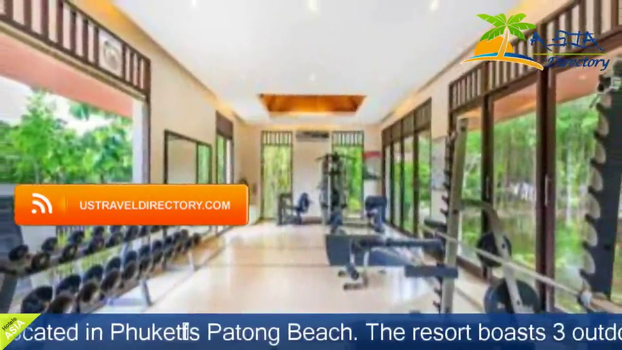 Duangjitt Resort and Spa - Patong Beach Hotels, Thailand - YouTube