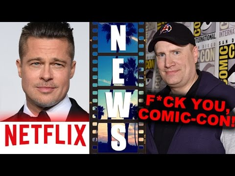 Brad Pitt's War Machine on Netflix, Marvel skips Hall H for Comic Con 2015 -  Beyond The Trailer
