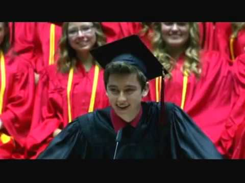 Best HS Graduation Speech Ever! Weber High Graduation 2015