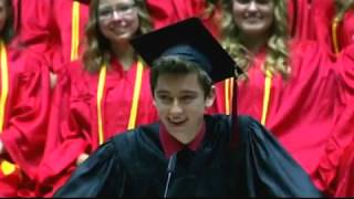Best HS Graduation Speech Ever! Weber High Graduation 2015 thumbnail