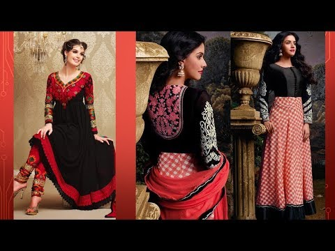 Long Anarkali Gown Dress Designs 2017 (Part 54)