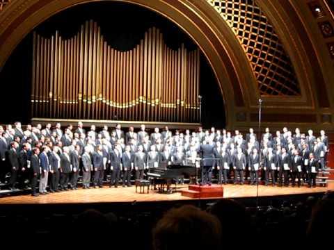 """University Of Michigan Men's Glee Club 150th, """"Spaseniye"""", Aka """"Spas"""""""