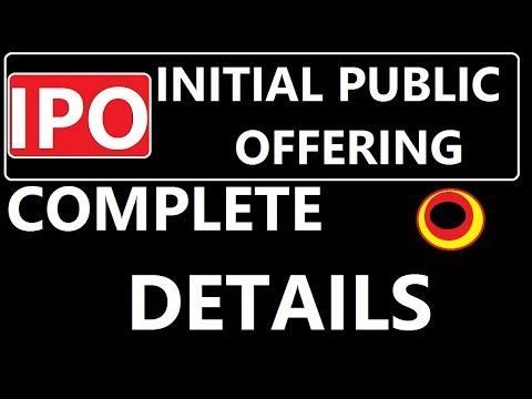 Initial Public offering | IPO
