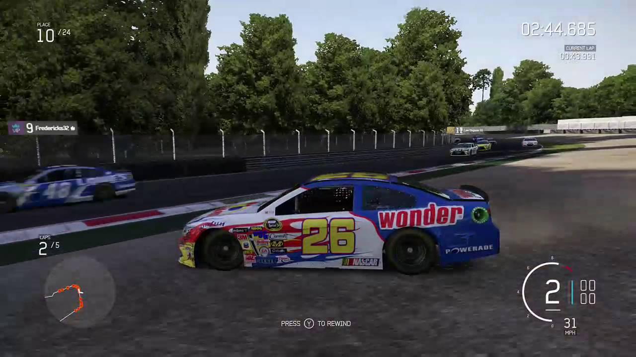 forza motorsport 5 nascar live stream (Part 2) - YouTube