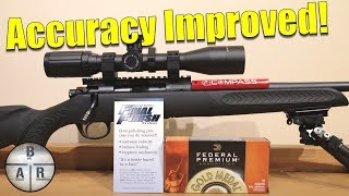 Thompson Center Compass - Improving the accuracy of the 300 Win Mag with Tubb Final Finish System