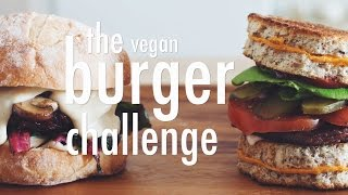 The Vegan Burger Challenge | Hot For Food
