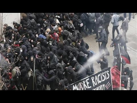 Inaugural Protests Marred by Sporadic Violence