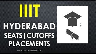 IIIT Hyderabad | Admissions | JEE MAIN Cutoffs | Seats | Salary Packages