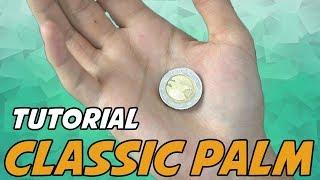 MÜNZE VERSCHWINDEN LASSEN (Tutorial/ Erklärung) Part 1 - Classic Palm - Zaubertrick lernen