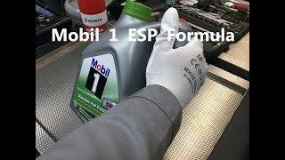 Заливаем масло в двигатель — Mobil 1 ESP Formula