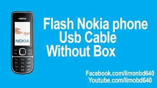Flash Nokia Phone Usb Cable Without Box