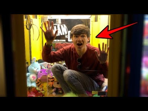 STUCK inside a Claw Machine!!! | JOYSTICK