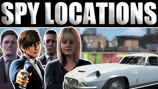 WATCH DOGS LEGION - BEST SPY LOCATIONS