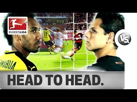 Aubameyang vs. Chicharito - World-Class Strikers Go Head-to-Head