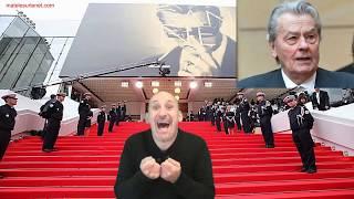 Palme d'honneur pour A.Delon au Festival de Cannes.