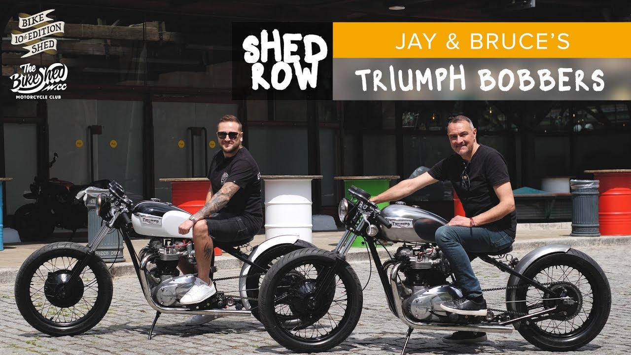 Triumph 1971 Bobbers By Bruce And Jay Bike Shed London 2019 Youtube