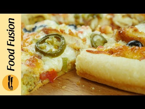 Stuffed Crust Pizza & Pizza Dough Recipe