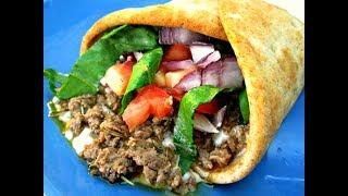 American Greek Gyro - Beef and Lamb Recipe - PoorMansGourmet