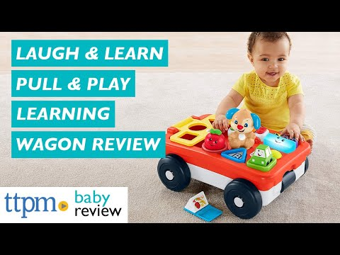 Laugh And Learn Pull And Play Learning Wagon From Fisher-Price