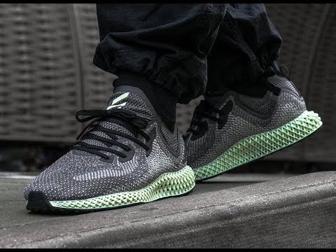 check out 92fec 2bfb1 Unboxing Adidas Futurecraft Alphaedge 4D Ash Green Review!