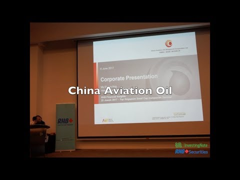 China Aviation Oil: RHB Securities Singapore 25 Jewels 2017