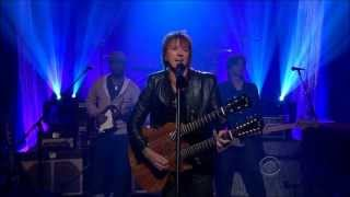 Richie Sambora - Wanted Dead or Alive - Craig Ferguson Show, HD