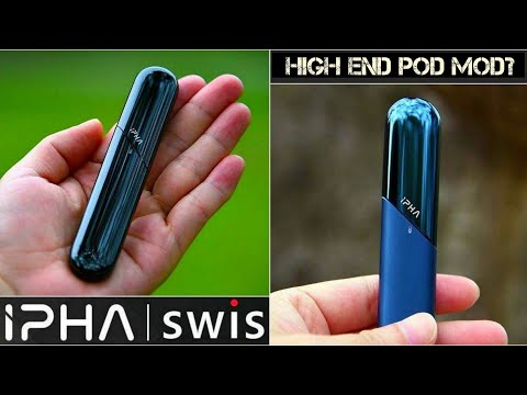 The SWiS by iPHA is the World's First Stainless Steel Pod Mod