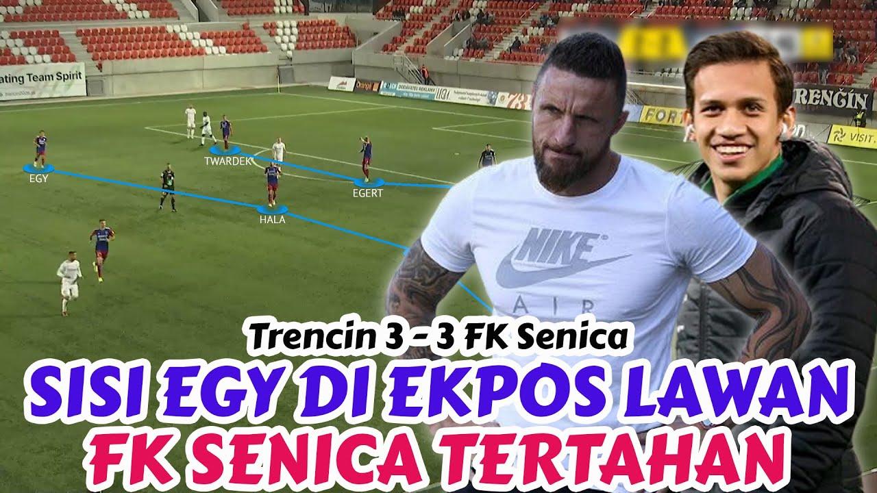 Download Egy Maulana Vikri Main Lagi, Lawan Ekpos Sisi Egy   AS Trencin 3 - 3 FK Senica