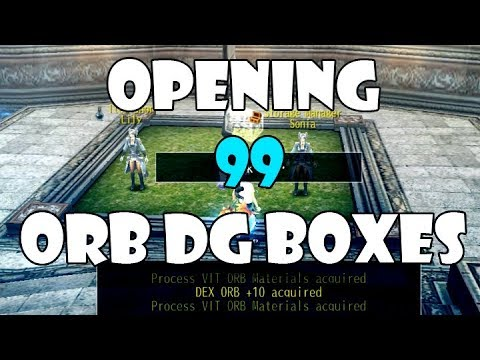 Avabel Online - Opening 99 Orb Dungeon Boxes