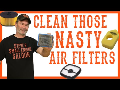 How Do I Clean an Air Filter