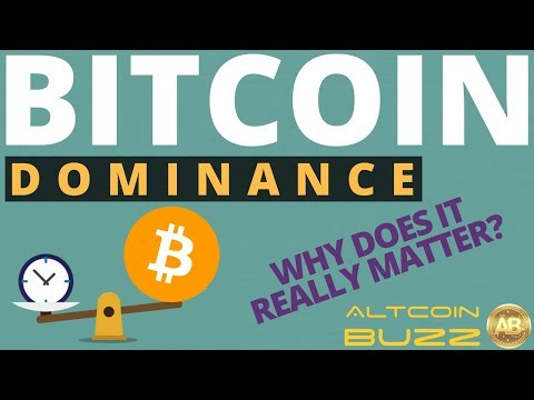 BITCOIN Dominance - Does it Really Matter?