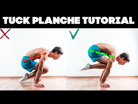 PLANCHE FOR BEGINNERS. TUCK PLANCHE TUTORIAL. thumbnail