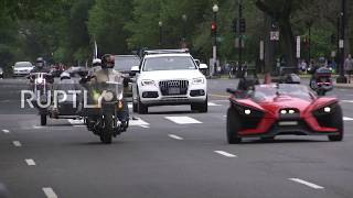 USA: Motorbike rally for veterans in DC held despite COVID-19 restrictions
