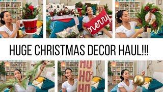 HUGE CHRISTMAS DECOR HAUL 2019 // TARGET, MARSHALLS, & HOMEGOODS // Jessica Tull