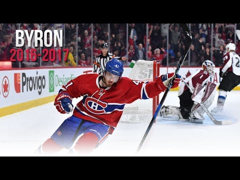 Paul Byron's All Goals from the 2016-2017 NHL Season